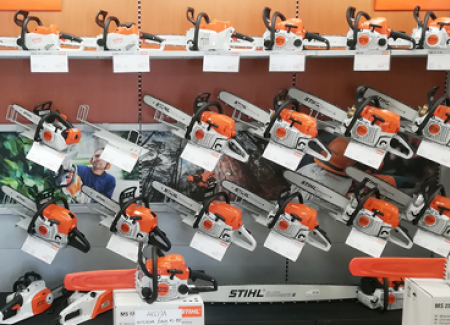 Prodajni program Stihl, Viking, Fiskars